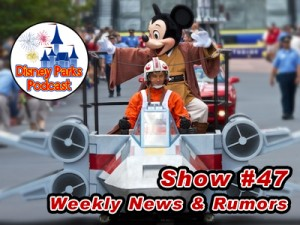 Disney Parks Podcast Show #47 - Disney News: Star Wars Weekends, Car Masters Weekend, and Disney Parks Podcast News