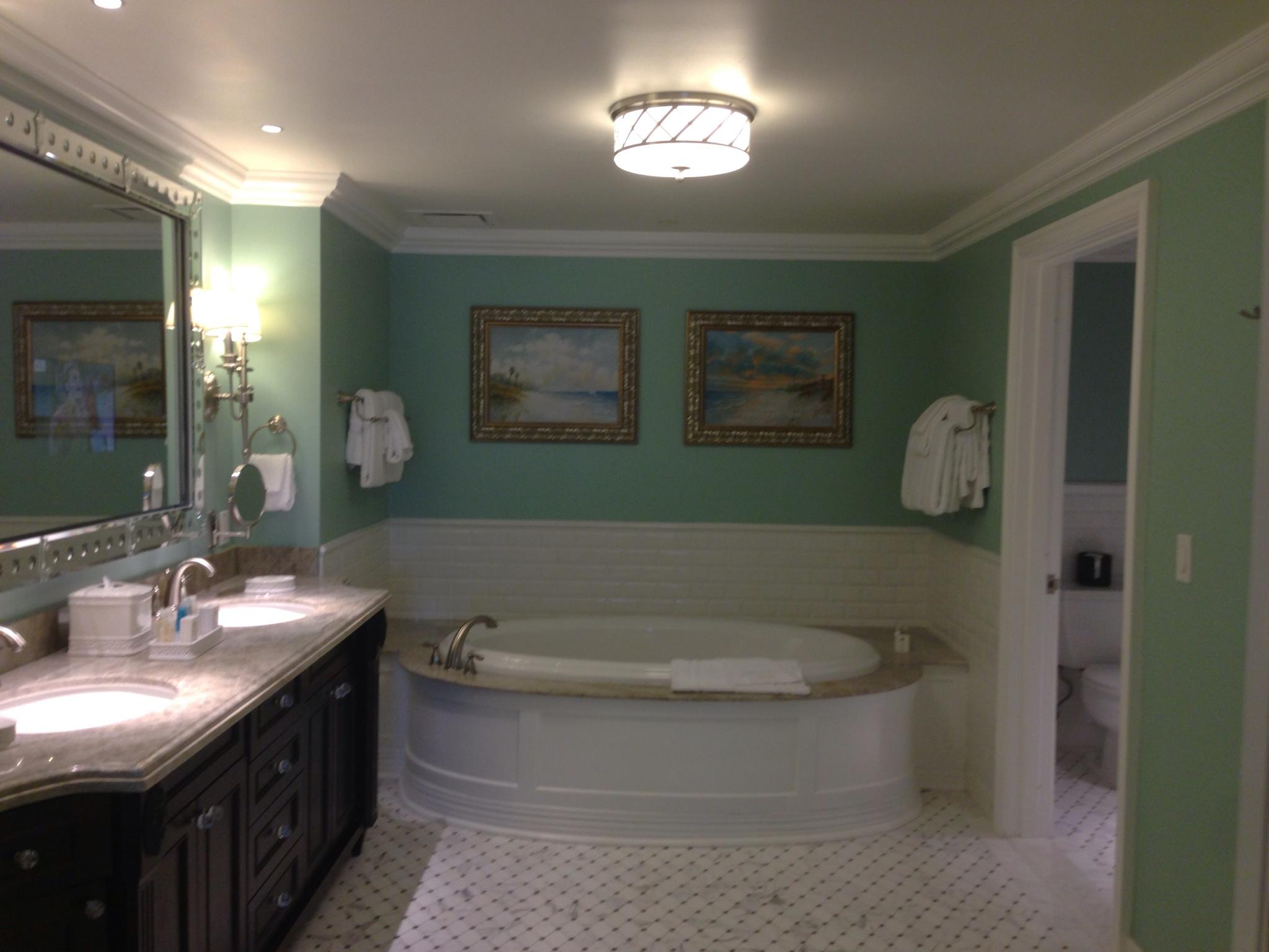 Grand Villa room 1401 Villas at Disneys Grand Floridian Resort