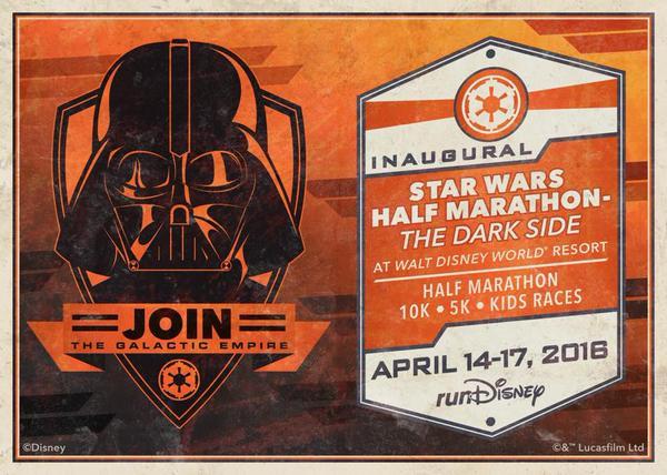 Walt Disney World Goes To The Dark Side With New Star Wars Half - The dark side of disney