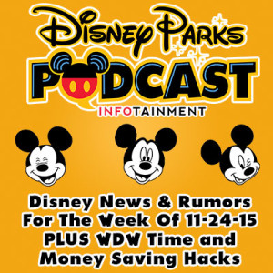 Disney Parks Podcast Show #246 - Disney News For The Week Of 11-24