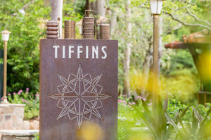 """Tiffins, a new restaurant at Disney's Animal Kingdom celebrates the art of traveling and includes the adjoining Nomad Lounge with waterfront views with outdoor seating. Open for both lunch and dinner, Tiffins' menu features a diverse menu drawing from places that inspired the creation of Disney's Animal Kingdom. The Indian English word """"tiffin"""" means a midday meal or type of container used to carry food while traveling. (Scott Watt, photographer)"""