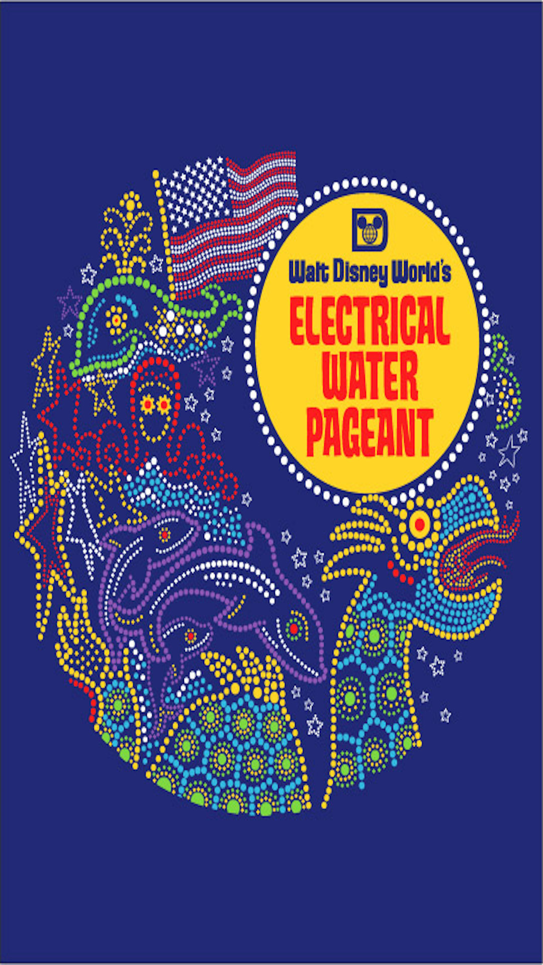 Electric Water Pageant Phone Wallpaper