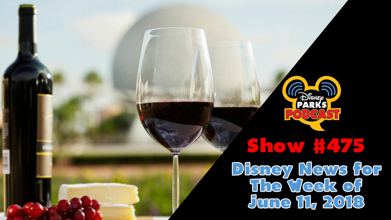 Disney Parks Podcast Show #474 – Disney News for The Week of June 11, 2018